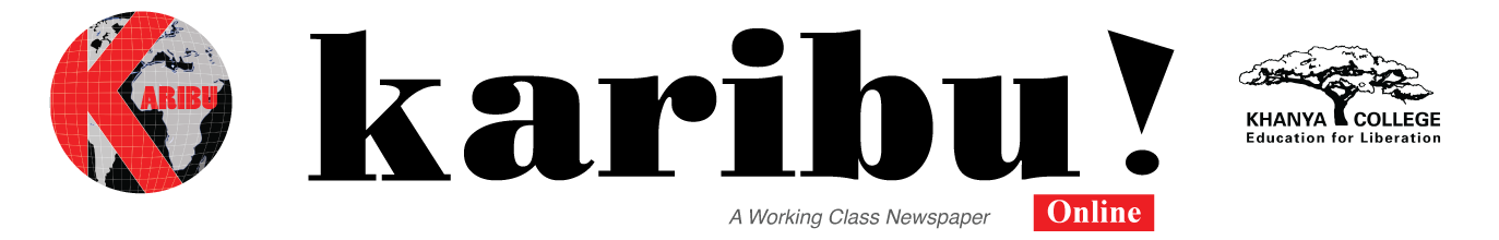 Karibu - A Working Class News